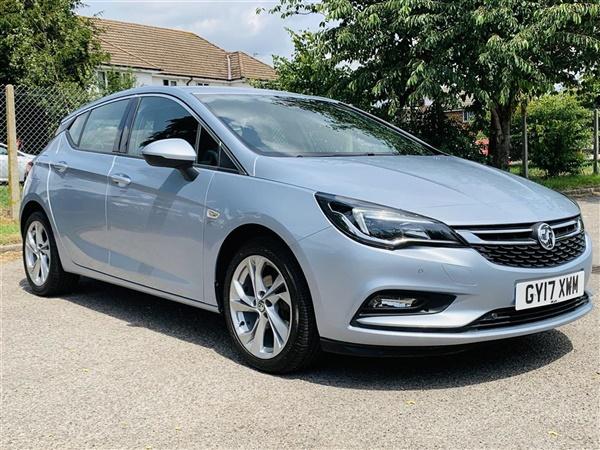 Vauxhall Astra 1.4 I TURBO 16V SRI NAV AUTO (S/S) 5DR DRIVER