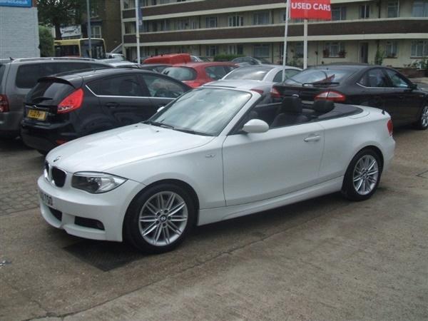 BMW 1 Series Manual Diesel 120D M SPORT CONVERTIBLE White