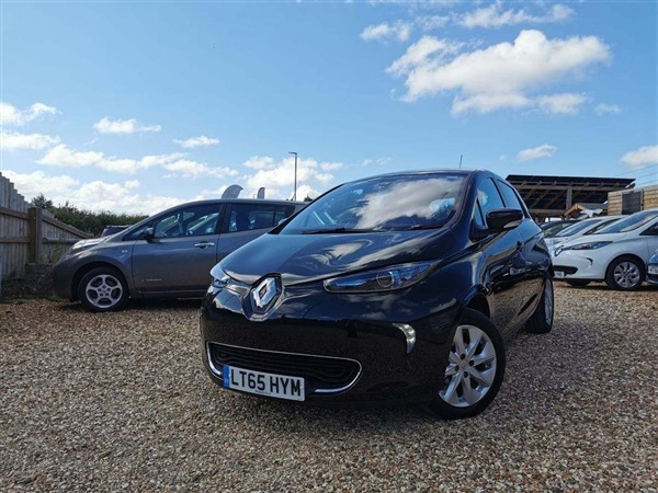 Renault ZOE 22kWh Dynamique Nav Auto 5dr (Battery Lease)
