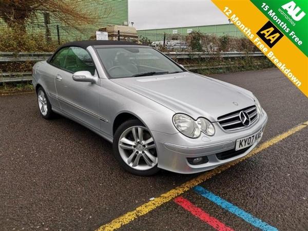 Mercedes-Benz CLK 3.0 CLK280 Avantgarde Cabriolet 7G-Tronic