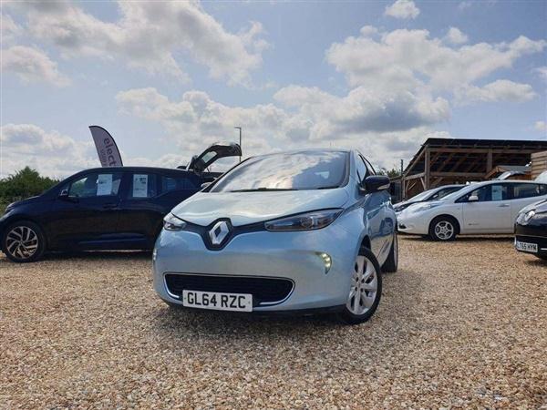 Renault ZOE 22kWh Dynamique Zen Auto 5dr (Battery Lease)