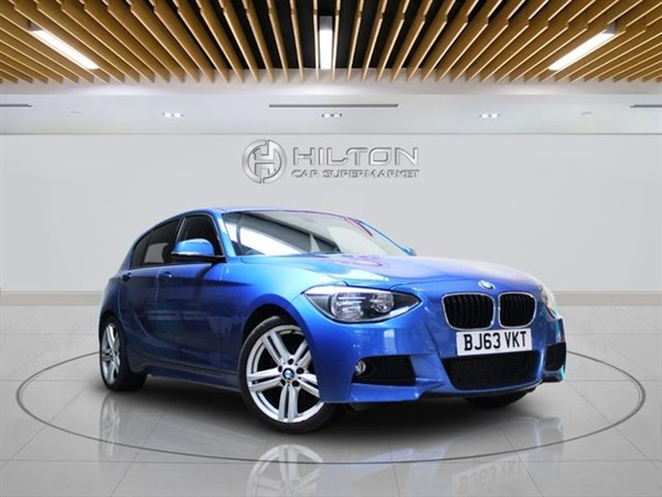BMW 1 Series D M SPORT 5d AUTO 114 BHP