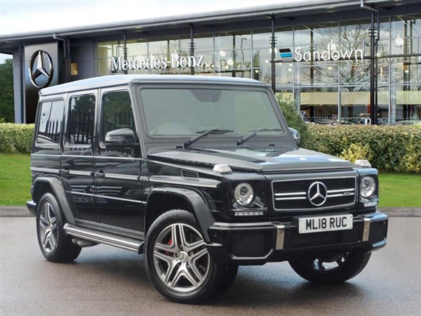 Mercedes-Benz G Class AMG G 63 4MATIC Automatic