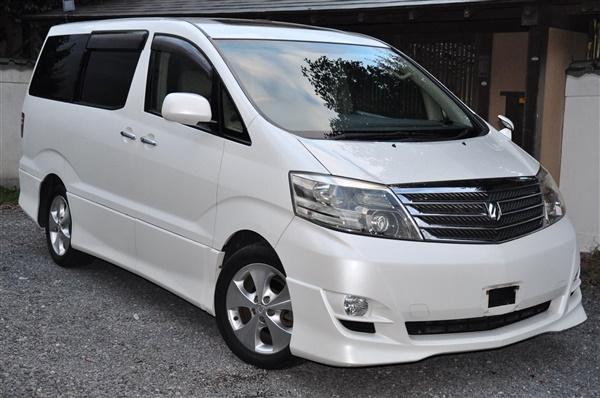 Toyota Alphard  LITRE, PETROL,  MILES,