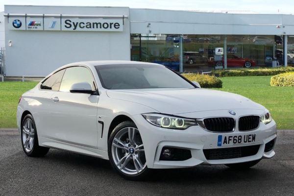 BMW 4 Series 420d M Sport Coupe Auto Coupe