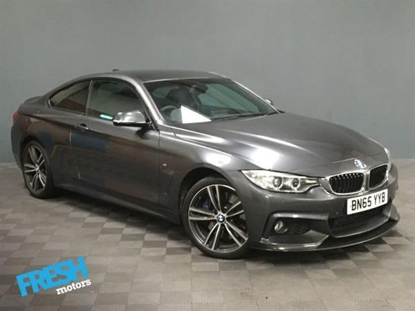BMW 4 Series D XDRIVE M SPORT 2d Auto