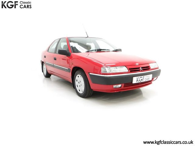 A Rare Phase 1 Citroen Xantia 2.0i SX with One Private Owner