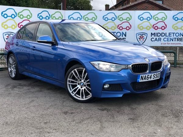 BMW 3 Series d M Sport xDrive (s/s) 4dr Auto
