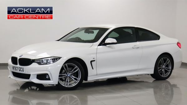 BMW 4 Series  BMW 420I 2.0 M Sport Coupe Coupe