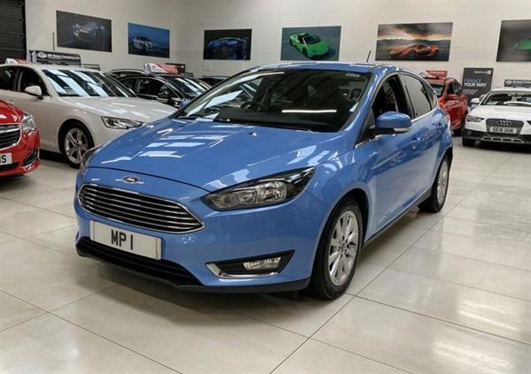 Ford Focus 1.5 TITANIUM 5d 150 BHP AUTO HATCH LEATHER NAV
