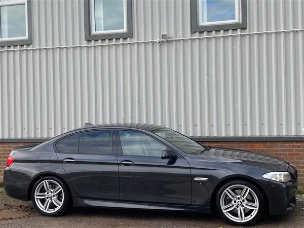 BMW 5 Series 535D 3.0 TWIN TURBO DIESEL M SPORT AUTO GREY