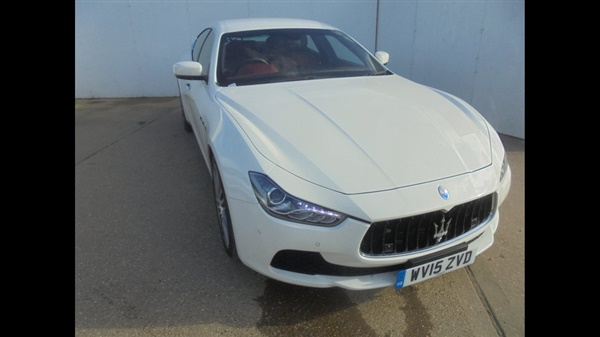 Maserati Ghibli V6 4dr Auto [Start Stop]
