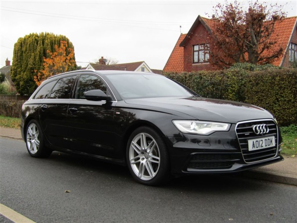 Audi A6 3.0 TDI 245 QUATTRO S LINE 5DR TURBO DIESEL ESTATE
