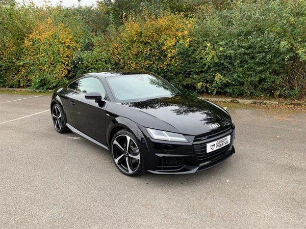 Audi TT 2.0L TFSI QUATTRO BLACK EDITION 2d 227 BHP Semi Auto