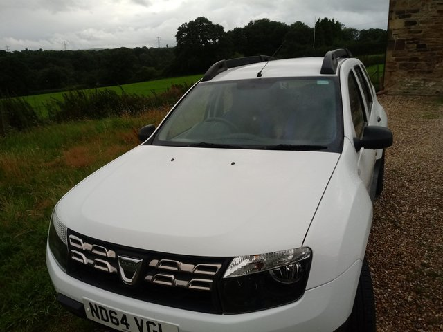 DACIA DUSTER 64 PLATE  MILES ONLY