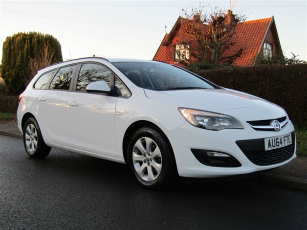 Vauxhall Astra 1.3 CDTi 16V DESIGN TURBO DIESEL ESTATE *