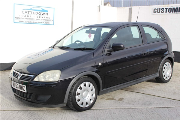 Vauxhall Corsa 1.2 i 16v Design 3dr (a/c)