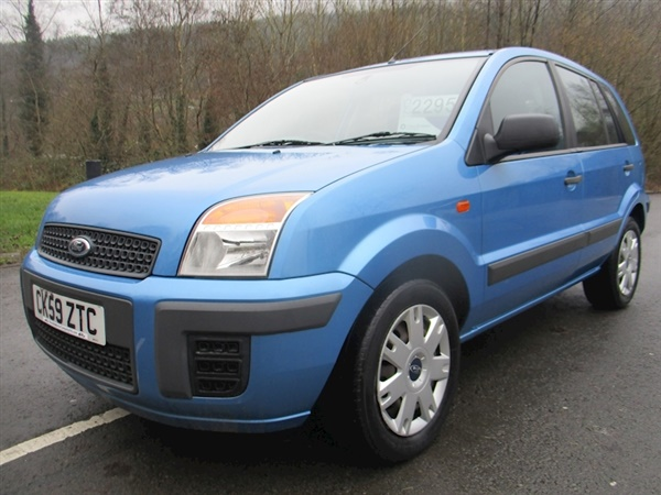Ford Fusion Fusion Style Plus Tdci Hatchback 1.4 Manual