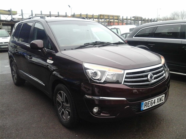 Ssangyong Turismo 2.0 e-XDi EX T-Tronic 4WD Selectable 5dr