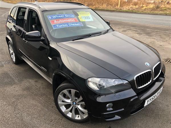 BMW X5 XDrive 3.0d M SPORT DIESEL AUTOMATIC NAV £48 WEEK NO