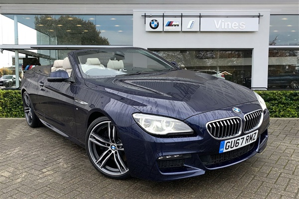 BMW 6 Series 640d M Sport Convertible Auto