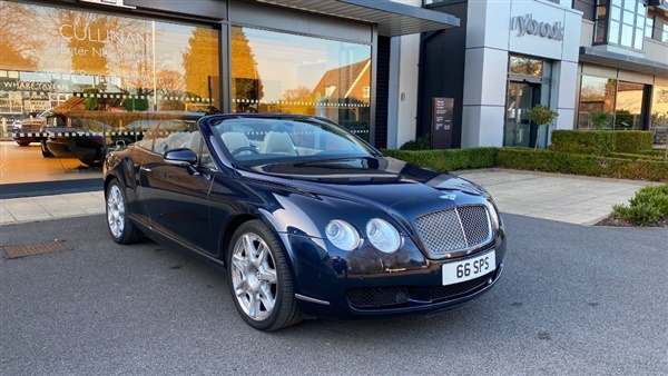 Bentley Continental GTC Mulliner Pack Auto