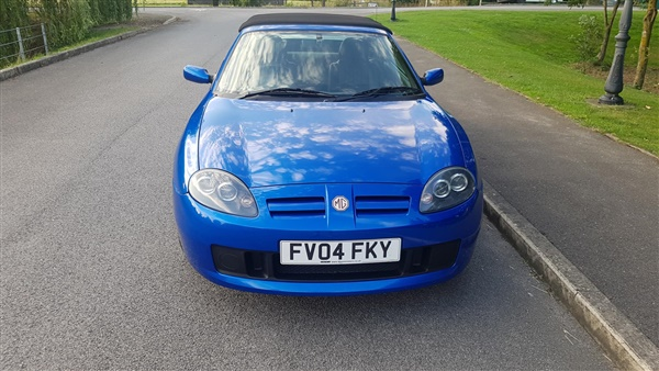 Mg MGTF v 2dr WITH HARD TOP,ONLY  MILES,