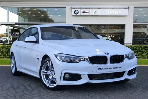 BMW 4 Series 420d M Sport Gran Coupe Auto