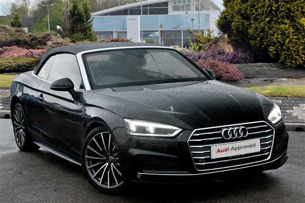 Audi A5 2.0 TFSI 40 S line Cabriolet S Tronic (s/s) 2dr Auto