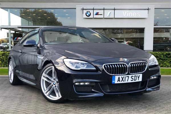 BMW 6 Series 640d M Sport Coupe Auto