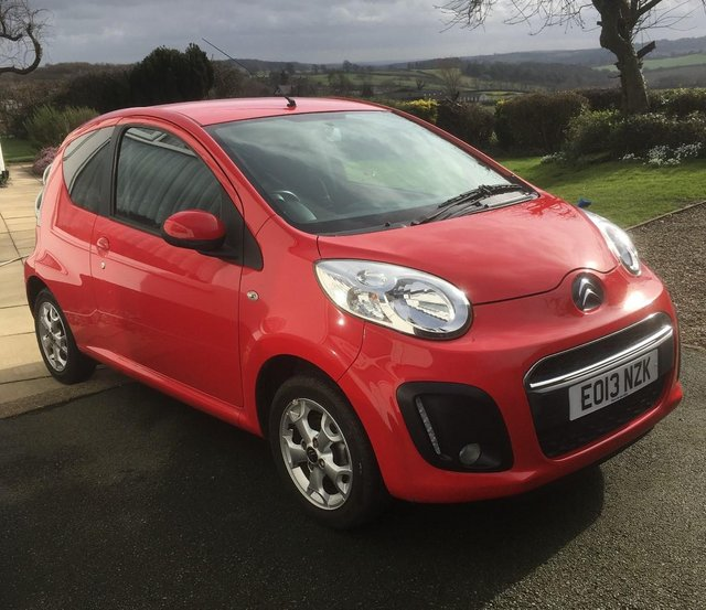 Citroen C Red Hatchback Manual Petro ONLY  miles