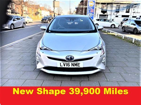 Toyota Prius 1.8 VVT-h CVT AUTO. ( Miles) NEW SHAPE.