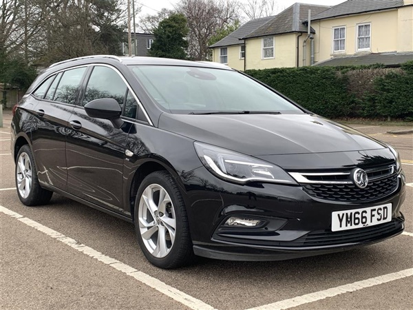 Vauxhall Astra 1.4I TURBO SRI SPORTS TOURER 5DR   FROM 6.9%