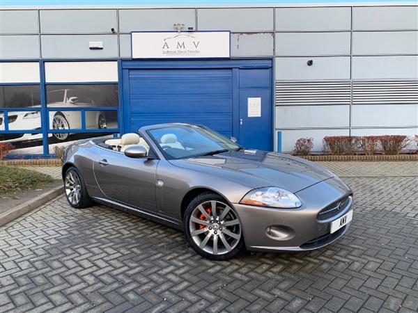 Jaguar XK V8 Auto Convertible, Leather, Sat Nav, 2 Owners,