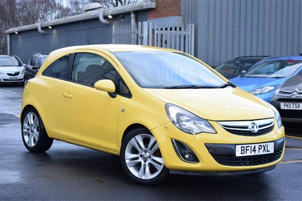 Vauxhall Corsa 1.2 i 16v SXi 3dr