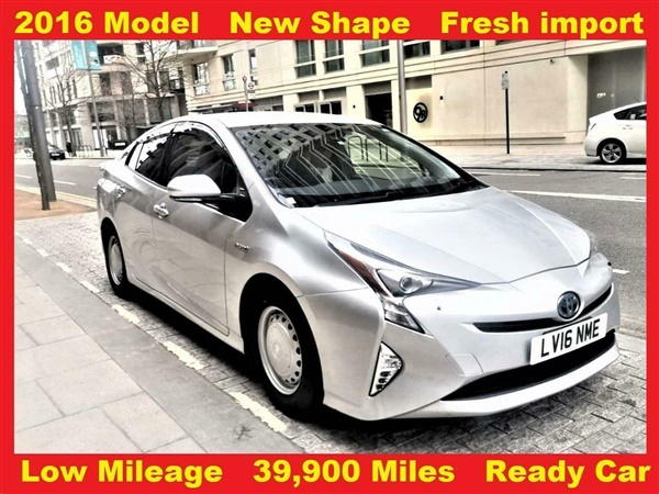 Toyota Prius 1.8 Hybrid VVT-h CVT AUTO. ( Miles) NEW