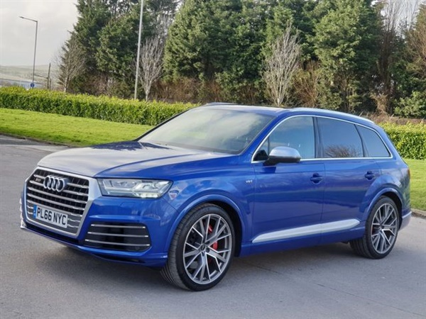 Audi Q7 4.0 SQ7 TDI QUATTRO 5d 429 BHP Auto
