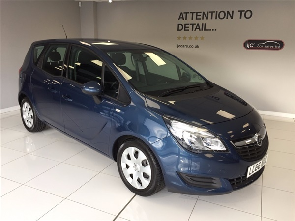 Vauxhall Meriva CLUB AUTOMATIC WITH JUST 589 MILES!! (YES