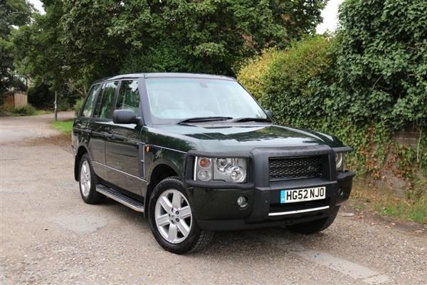 Land Rover Range Rover 3.0 Td6 HSE 5dr Auto
