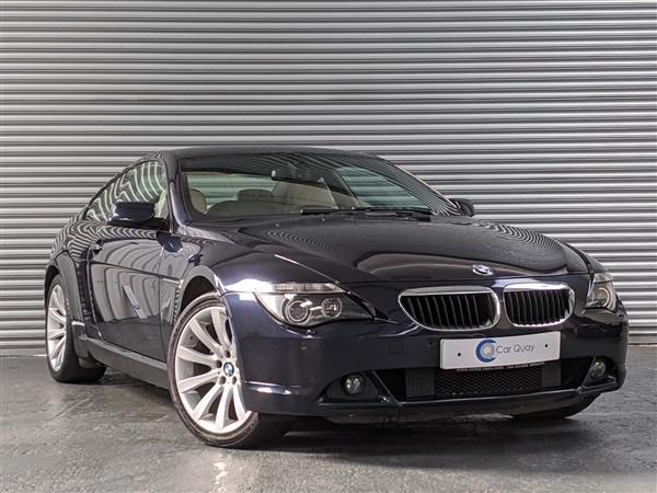 BMW 6 Series i Sport 2dr Auto