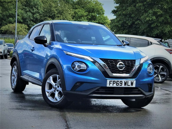 Nissan Juke 1.0 DIG-T N-Connecta SUV 5dr Petrol DCT Auto