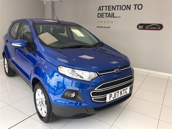 Ford EcoSport ZETEC PETROL MANUAL WITH JUST  MILES (YES