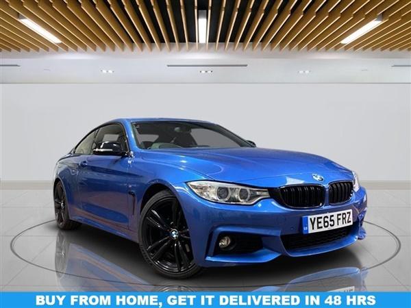 BMW 4 Series D M SPORT 2d 188 BHP   NO ULEZ CHARGES