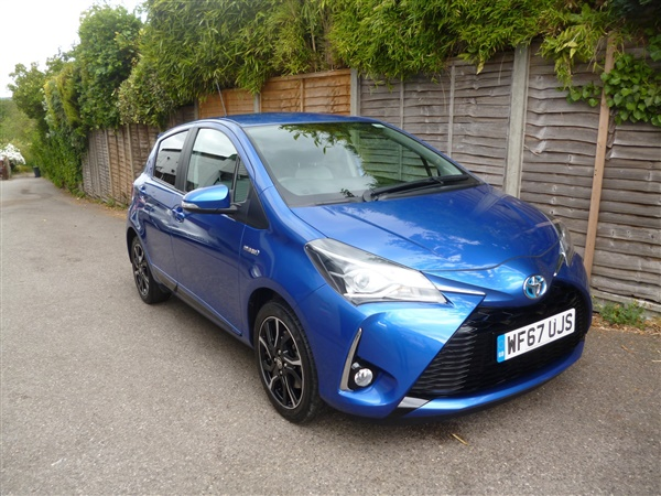 Toyota Yaris VVT-I DESIGN ONLY  MILES FROM NEW Auto