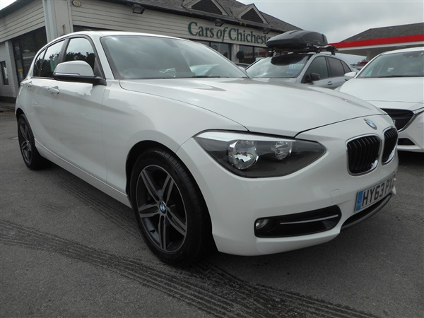 BMW 1 Series 116D SPORT 5dr 30 Road Tax Up to 65mpg