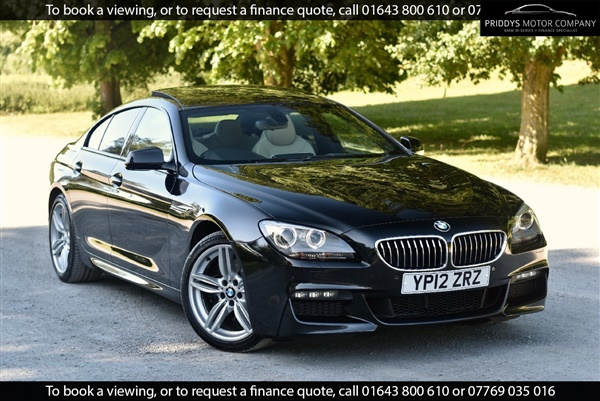BMW 6 Series 640d Step Auto M Sport + PAN ROOF + FULLY