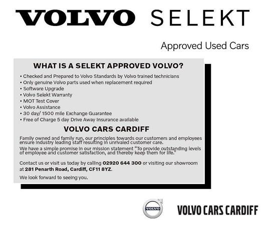 Volvo V40 (LED Headlights, Tyre Pressure Monitoring, Rear
