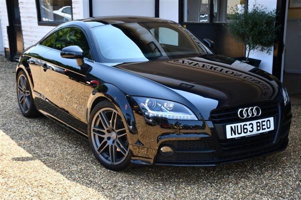 Audi TT 2.0 TFSI BLACK EDITION 2d 208 BHP Semi Auto