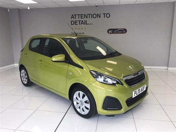 Peugeot 108 ACTIVE  MODEL WITH JUST 343 MILES!! PETROL