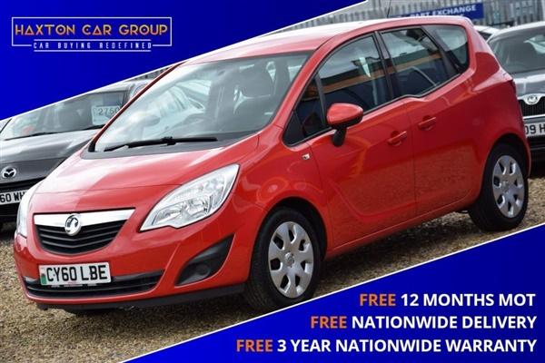 Vauxhall Meriva 1.4 EXCLUSIV 5d 119 BHP + FREE NATIONWIDE